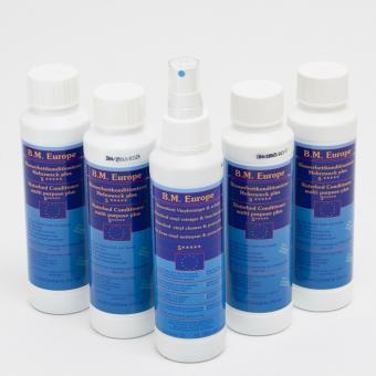 4 x BM Europe Wasserbettenkonditionierer 250 ml,1x Vinylreiniger 250 ml