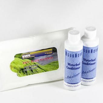 2 x Wasserbetten Konditionierer 250ml,Made in Germany,Vinylreinigungstücher