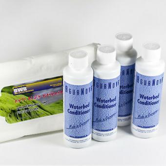 4 x Wasserbetten Konditionierer 250ml,Made in Germany,Vinylreinigungstücher