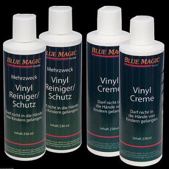 Blue Magic Vinylreiniger,Creme mit Sprühkopf und Dosierspender,Pflegesets