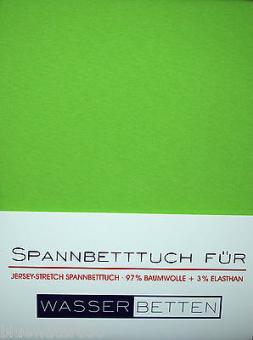 Kirsten Balk Spannbetttuch für Wasserbetten Jersey 180/200,200/220 ,apfel