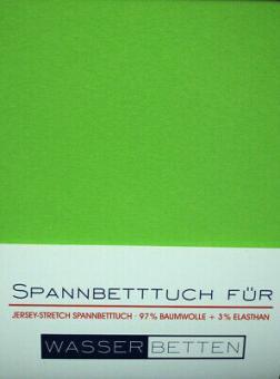 Kirsten Balk Spannbetttuch für Wasserbetten Jersey 140/160x200/220 ,Apfel