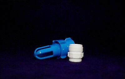 Füll und Entleerstutzen von Blue Magic mit Wasserhahnanschluss