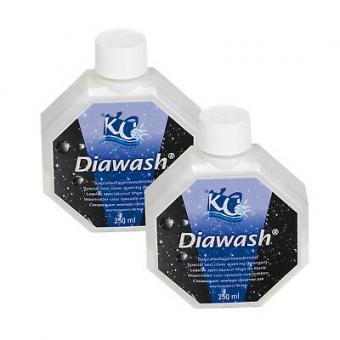 2 x DIAWASH  250ml,entwickelt für Matratzenbezüge und Wasserbettauflagen.