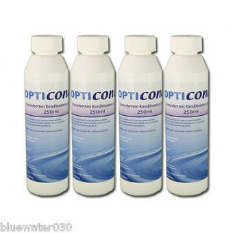 4 x Opticond Plus Wasserbetten Konditionierer 250 ml Made in Germany