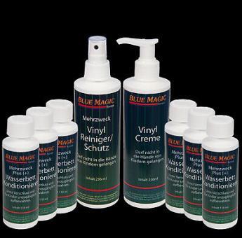 6 x Wasserbetten Konditionierer 118 ml,Vinylreiniger Pumpzersteuber,Vinylcreme