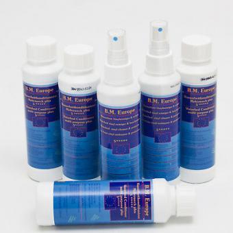 4 x BM Europe Wasserbetten Konditionierer 250 ml und 2 x Vinylreiniger 250 ml