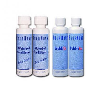 2x Agua Nova  Konditionierer 250 ml  2x Agua Nova Bubble Ex a 400gr