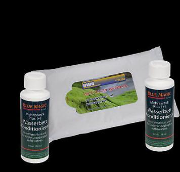 2 x Wasserbetten Konditionierer 118 ml,1 x Vinylreinigungstücher a15 Stück
