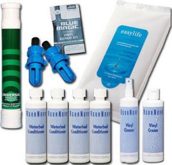 Wasserbetten Konditionierer,Pumpe ,Vinylcreme, Cleaner,Tücher und Zubehör