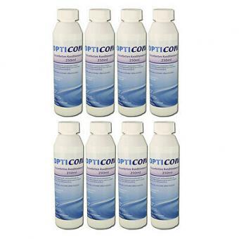 8 x Wasserbetten Konditionierer 250 ml Made in Germany, Opticond  Konditionierer