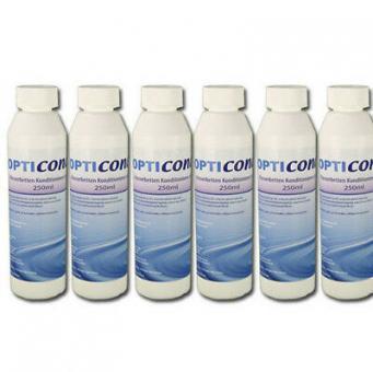 6 x Opticond Plus Wasserbetten Konditionierer 250 ml Made in Germany