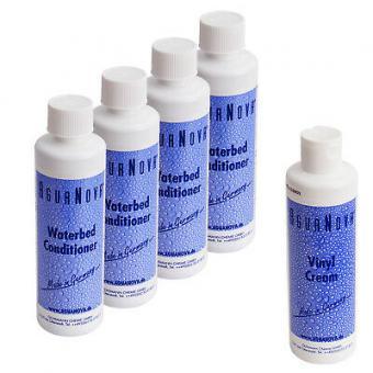 4 x Agua Nova Wasserbetten Konditionierer 250 ml,1x Vinylcreme 240 ml