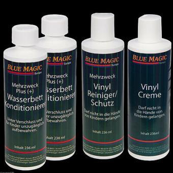 Wasserbetten Konditionierer 236,Blue Magic Vinylreiniger,Creme,Jahrespflegeset